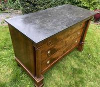 French Empire Commode in Figured Walnut (6 of 7)