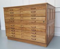 Vintage 1950s Plan Chest (4 of 7)