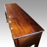 Antique Oak Cabriole Leg Dresser (9 of 9)