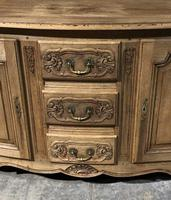 Bow Front French Bleached Oak Enfilade (3 of 11)