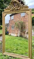 Large antique French gilt mirror (8 of 8)