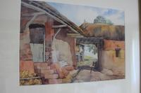 Vintage Original Watercolour - Old Barns & Countryside - A Millin (4 of 4)