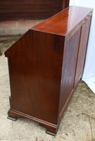 1960s Large Well Fitted Mahogany Bureax with Secret Drawer (6 of 6)