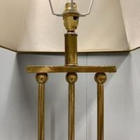 Pair of Chrome & Brass Rodded Table Lamps (9 of 9)