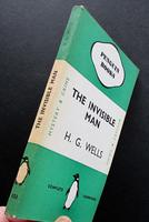 1938 The Invisible Man by H G Wells Green Penguin Number 151 (3 of 5)