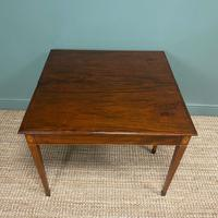 Country House Georgian Mahogany Antique Side / Tea Table (4 of 8)