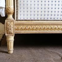 Louis XVI Style Bed with Upholstered Panels (7 of 10)