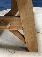 Scandinavian Style Bleached Oak Farmhouse Table (3 of 14)