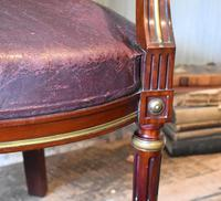 Pair of French Directoire Leather Armchairs (10 of 16)
