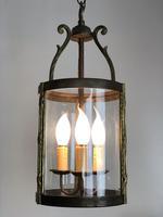 French Gilt Bronze Circular Lantern (5 of 11)