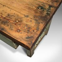 Large Antique Silversmith's Table, English, Pine, Industrial, Bench, Victorian (11 of 12)