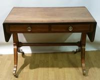 Regency Period Small Sofa Table c.1815 (8 of 9)