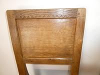 Yorkshire ( Lizardman) Oak Table & 4 Chairs (12 of 13)