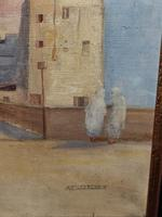 Impressive French Orientalist Painting Oil on Canvas 'attr. Albert Rigolot' (9 of 12)