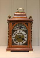 Small Burr Maple Bracket Clock (2 of 9)