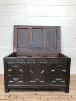 Antique Oak Coffer Blanket Box (7 of 11)