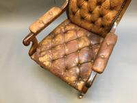 19th Century Rosewood Library Chair (2 of 10)