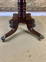English 19th Century Mahogany Tilt Top Centre Table (3 of 8)