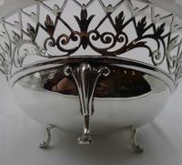 Silver Bon Bon Dish. Sheffield 1921 (3 of 5)