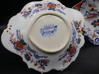 A Very Pretty Pair of Late 19th Century Porcelain Plates in the Japanese Style. (5 of 6)