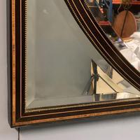 19th Century Ebonised & Burr Walnut Mirror (3 of 4)