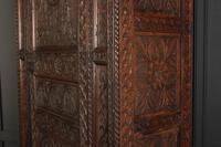Carved Oak Hall Cupboard (5 of 15)