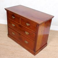 Edwardian Walnut Chest of Drawers (8 of 8)