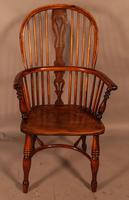 Good High Back Windsor Chair c.1840 (2 of 11)