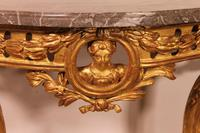 Giltwood Console From The 18th Century - Transition Period (louis XV-louis XVI) -france (12 of 13)