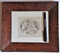 Francesco Bartolozzi 1791 Print after John Howes, 18th Century Colour Impression, Period Frame (3 of 6)