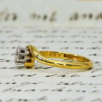 The Vintage 1968 Illusion Solitaire Diamond Ring (3 of 6)