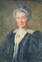 Henry Wright Kerr Exceptional Watercolour Portrait Painting (2 of 10)