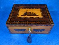William IV Early Mosaic Tunbridge Ware Table Box (15 of 20)