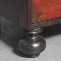 Victorian Teak Two Part Military Chest (12 of 13)