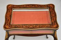 Antique French Inlaid Rosewood Bijouterie Display Table (5 of 15)