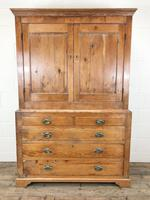 19th Century Antique Pine Housekeepers Cupboard (M-879) (9 of 13)