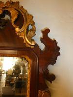 English 18th Century Mahogany & Gilt Mirror (8 of 9)