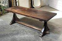 French Farmhouse Dining Table & Benches Set (29 of 33)