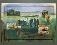 'Classical Golf' - Beautiful Signed Original 20thc Mixed Media Abstract Painting (2 of 11)