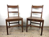 Pair of Antique Welsh Oak Farmhouse Chairs (3 of 17)