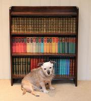 Solid Oak Graduated Bookshelves (9 of 10)