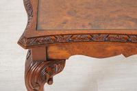Burr Walnut Queen Anne Style Coffee Table c.1930 (3 of 6)