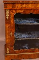 Victorian Pier Cabinet in Burr Walnut (2 of 8)