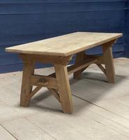 Scandinavian Style Bleached Oak Farmhouse Table (10 of 14)