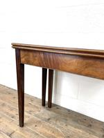 Antique Mahogany Fold Over Table (5 of 10)