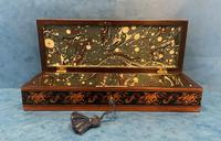 Victorian Satinwood Glove Box With Tunbridge Ware Inlay (3 of 12)