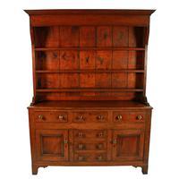 Georgian Oak Dresser & Rack (2 of 8)