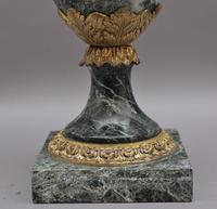 Pair of 19th Century French Marble & Cassoulet Urns (12 of 13)