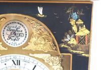 Good Caddy Top Mantel Clock – Chinoiserie Striking 8-day Mantle Clock by Elliot London (6 of 13)