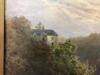 George Henry Jenkins 'A Devon River Landscape' Oil on Canvas Painting (9 of 12)